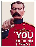 YOU ARE THE MAN POSTCARD